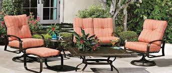 Vintage Woodard Wrought Iron Patio Furniture by Woodard Whitecraft Replacement Cushions