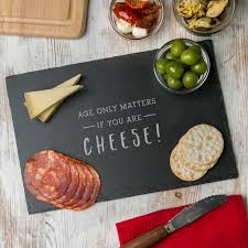 personalised mens birthday cheese board by dust and things