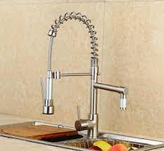 Tap Kitchen Faucet Kitchen Faucet Ceramic Sink Taps Spring Double Outlet Wire Tap