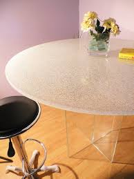 clear glass table top extra clear crackle glass table tops