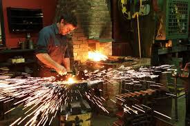 blacksmith photo sparks google search blacksmithing