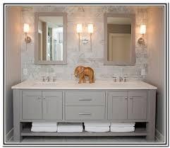 Gray Vanity Bathroom Light Grey Bathroom Vanity Mbath Pinterest Grey Bathroom
