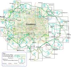 Map Of England With Cities by Coventry Walks A Coventry Way