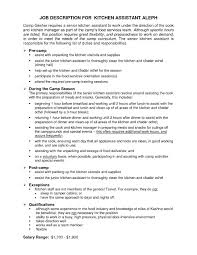 resume examples kitchen manager augustais