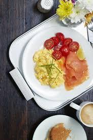 Anthony Bourdain Scrambled Eggs Scrambled Eggs With Smoked Salmon Recipe By Carolyn Menyes