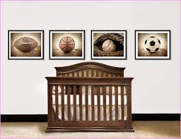 Sports Nursery Wall Decor Sports Wall Decor For Nursery Home Design Ideas