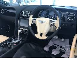 bentley steering wheel bentley continental gt 2014 v8 4 0 in kuala lumpur automatic coupe