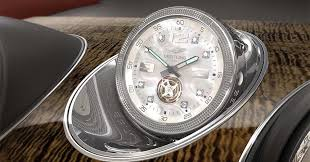 bentley bentayga silver bentley offering world u0027s most expensive in car clock