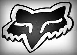 motocross racing logo how to draw fox head logo fox racing step by step sports pop