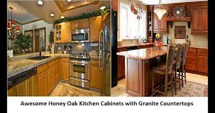 what color backsplash with honey oak cabinets kitchen countertop ideas with light oak cabinets erigiestudio