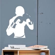 aliexpress com buy a029 boxer gym wall sticker for kids room