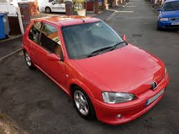 peugeot red 1998 cherry red peugeot 106 gti non sunroof archive 106