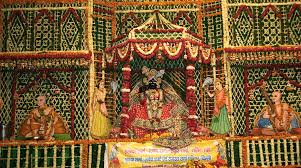 How To Decorate Mandir At Home Flower Decoration In Vrindavan Temples Began On Kamda Ekadashi