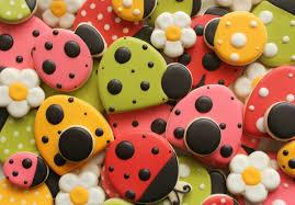 ladybug cookies decorated ladybug cookies the sweet adventures of sugar