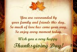 thanksgiving day quote saying slogan sms messages fb