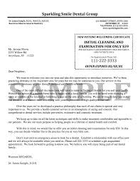 Dental Certification Letter Sle New Patient Welcome Letter Template 28 Images Best Photos Of