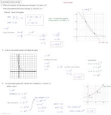 Exponents Printable Worksheets Solving Exponential Equations Worksheet