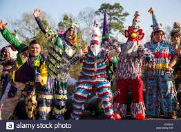 traditional cajun mardi gras costumes wearing traditional cajun mardi gras costume and mask participants