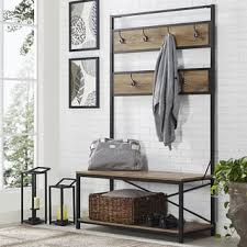 coat rack bench for less overstock com