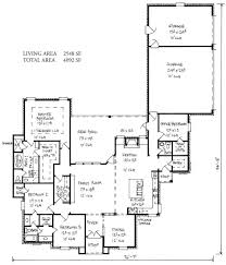 French Cottage Floor Plans Meadowbrook Country French Home Plans Louisiana House Plans