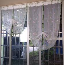 all you need to know about balloon curtains for kitchen