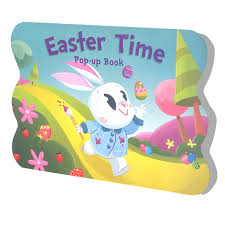 easter bunny book learning is pop up book easter time