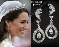 kate middleton diamond earrings kate middleton wedding earrings bridal earrings cubic zirconia