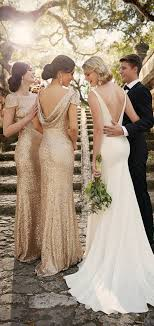 designer bridesmaid dresses 60 low back wedding dresses deer pearl flowers