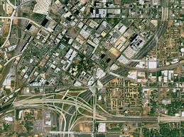 Map Of Atlanta Area by Svs Great Zoom Out Of Atlanta Ga The State Capitol Building