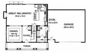 simple colonial house plans eplans colonial house plan simple saltbox 2298 square and