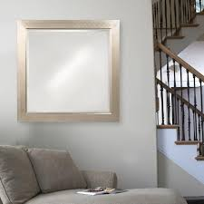 howard elliott 40 in x 40 in millennium silver square mirror