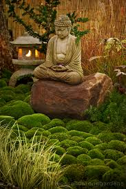 asian inspired garden always wanted a japanese lantern in a
