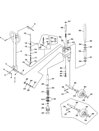 crown older pth hydraulic unit