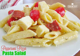 pepperoni pizza pasta salad the country cook