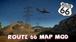Route 66 Map by Gta Iv Route 66 Map Mod Youtube