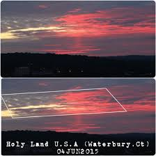American Flag Sunset Usa Flag Seen In Sunset Over Holy Land Usa Murica