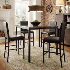 black dining room table set dining room sets kitchen dining room furniture the home depot