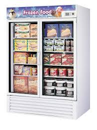 glass door commercial refrigerator used commercial 2 glass door frozen foods merchandiser freezer