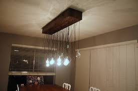 Diy Dining Room by Diy Multi Bulb Dining Room Chandelier Love U0026 Renovations
