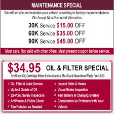 Check Engine Light Oil Change Greg U0027s Automotive Certified Mainenance Services Check Engine