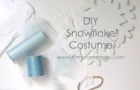 Snowflake Halloween Costume Diy Snowflake Costume Tamara Menges Designs