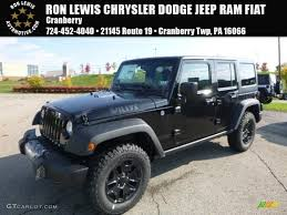 jeep wrangler unlimited interior 2017 2017 black jeep wrangler unlimited willys wheeler 4x4 116486848