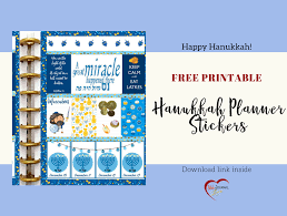hanukkah stickers happy hanukkah free planner stickers bible journal