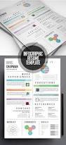 creative infographic resume cv template website design ideas