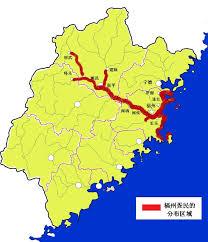 Fuzhou China Map by Min River Fujian Wikipedia