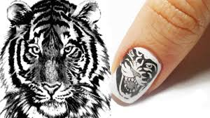 tattoo technique nail art tutorial youtube