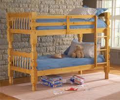 Rails For Bunk Beds 4 Post Honey Pine Bunk Bed Hook On Rails By Bernards
