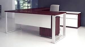 U Shaped Executive Desk L Shaped Executive Desk Unique Modern Wood L Shaped Executive Desk
