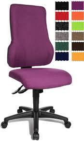 chaise de bureau violette fauteuil de bureau avec dossier ergonomique lucque
