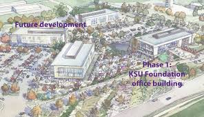 Kansas State Map Ksu Foundation To Develop 14 Acre Site At Kimball And Denison In